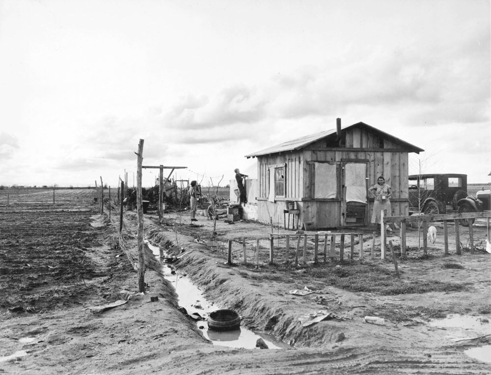 Dust bowl drought victims (migratory far