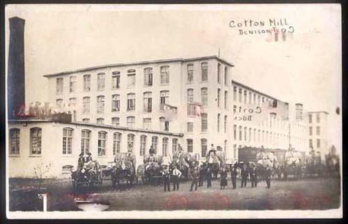earlyDencottonmillpostcard
